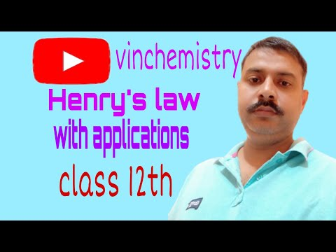 henry law and its applications
