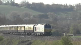 67026 TnT 67005 5z76 @ Newton st Loe, Bath 18-04-15