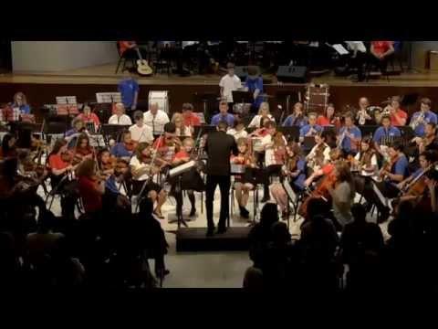 Orquesta HARINGEY YOUNG MUSICIANS en concierto 2015. Part  9