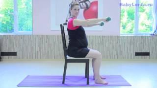 Упражнения для укрепления рук во время беременности