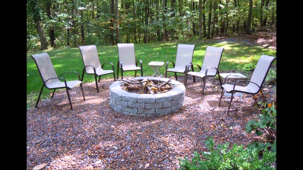 Backyard Ground Cover Ideas. Pond Rehab Gravel Lok Patio ...