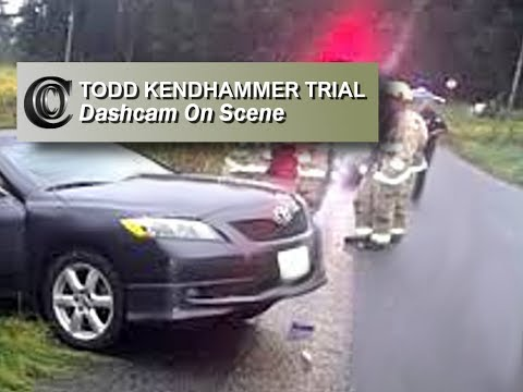 📸 TODD KENDHAMMER TRIAL - Police Dashcam On Scene