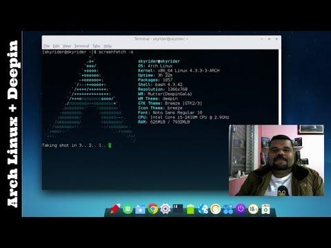 Instalando o Arch Linux com Desktop Deepin
