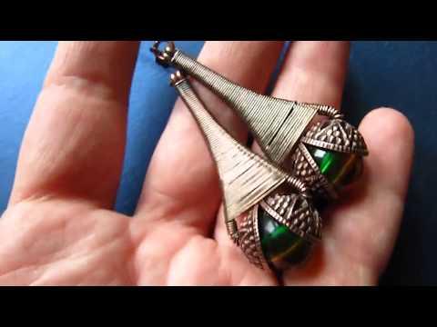 Copper Wire Wrapped Earrings by DeeArtist, 2018