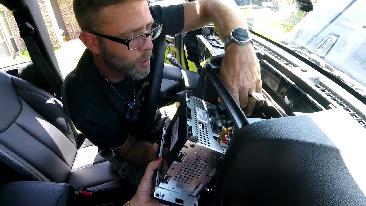 Episode 145 Jeep Wrangler Dash And Console Removal For Android 1998 Pad Auto Youtube