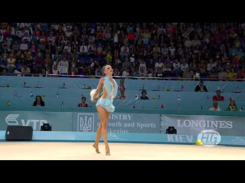 2013 Rhythmic Worlds - Kiev, Ukraine - Individual Hoop and Ball Finals - We are Gymnastics!