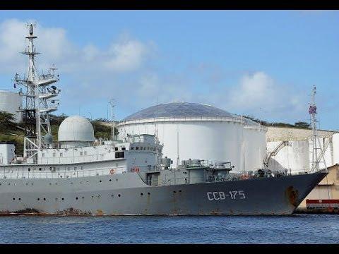 Russian Warship Spotted Off the Coast of Miami Heading Towards CUBA
