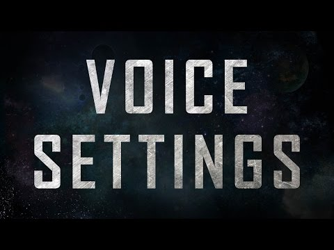 Starcraft 2: Voice Settings