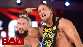 enzo amore big cass don t need microphones raw oct 24 2016