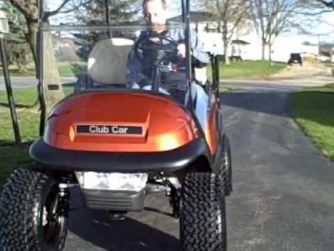 2005 Club Car GAS Golf Cart