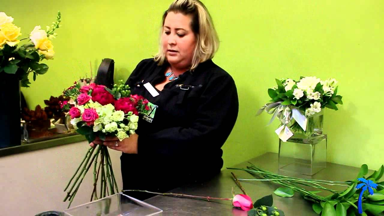 How To Make Bouquet How To Make A Beautiful Hand Tied Flower