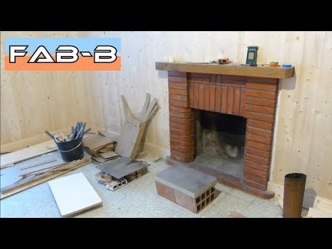 installation d 39 un insert bois partie 1 youtube. Black Bedroom Furniture Sets. Home Design Ideas