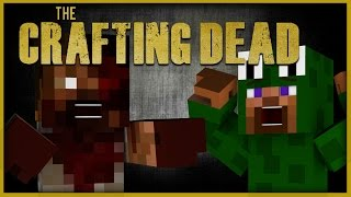 Minecraft Adventure - CRAFTING DEAD RESCUE MISSION ( Custom Roleplay)