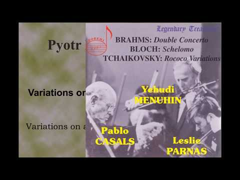 Tchaikovsky Variations on a Rococo Theme op. 33(Pablo Casals 1975)