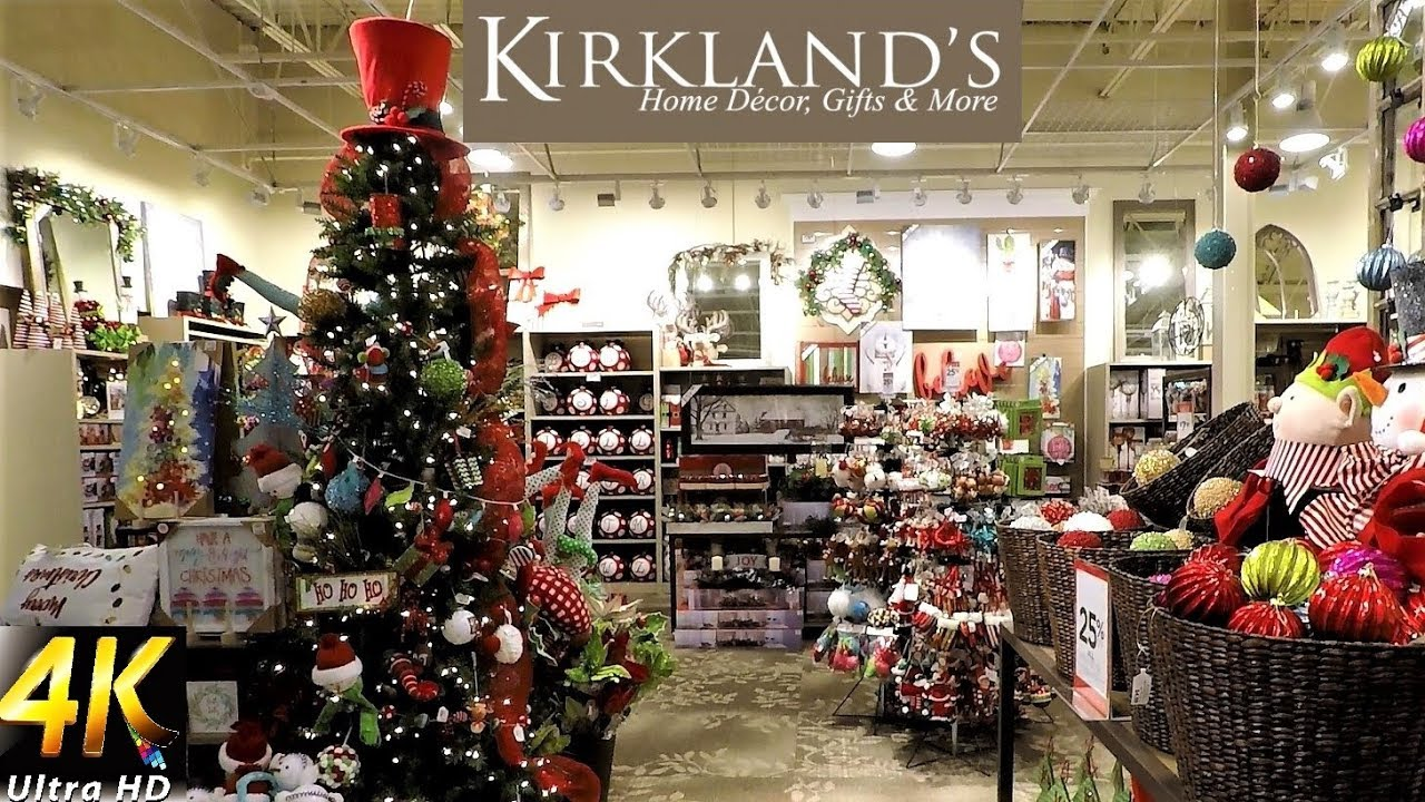 KIRKLAND'S CHRISTMAS DECOR - Christmas Decorations Christmas ...