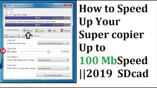 how to Super Copy  fast copier any file  (Bangla Tutorial)