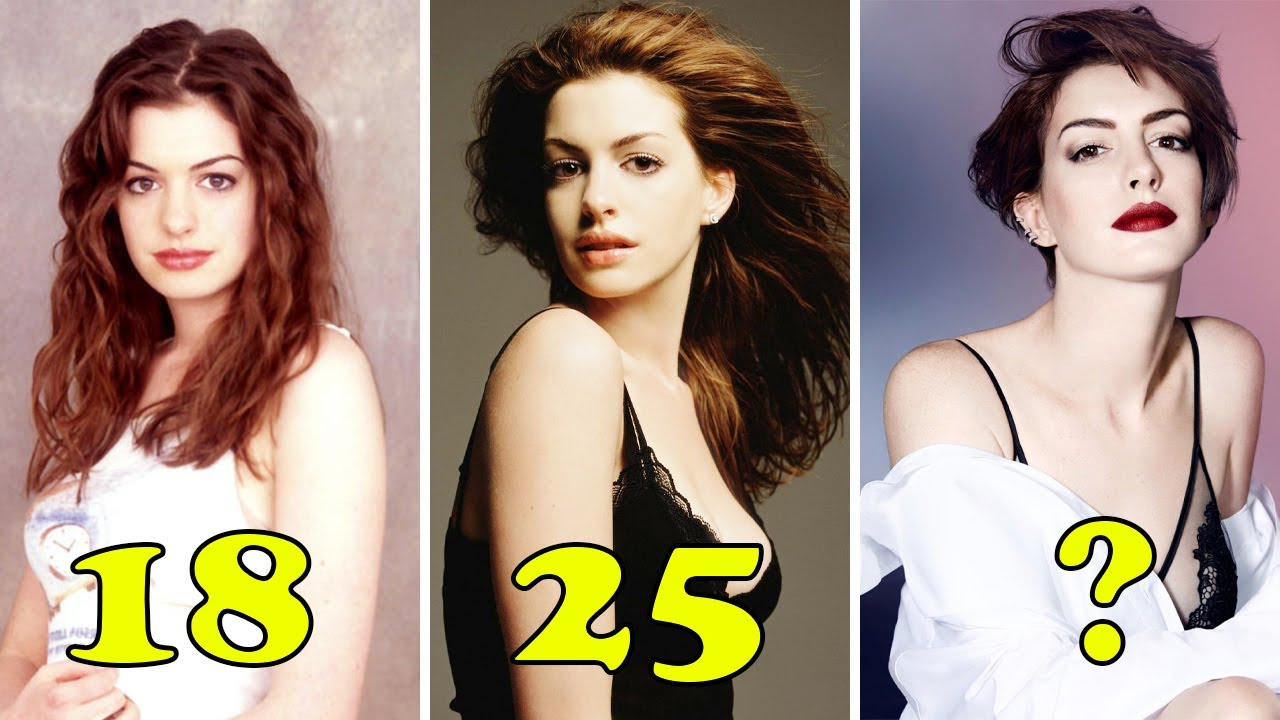 Download Anne Hathaway Transformation 🖤 From Baby To Now