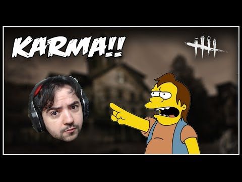 O KARMA É FODA!!!!!!!!!!!!  - Dead By Daylight