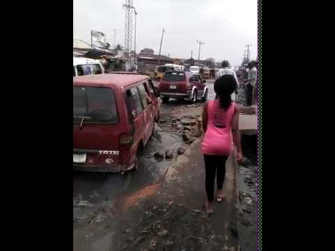 Aba, Abia State ,Nigeria celebrates 100 years of bad roads today