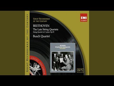 String Quartet No. 16 In F Major, Op. 135: III. Lento Assai E Cantante Tranquillo