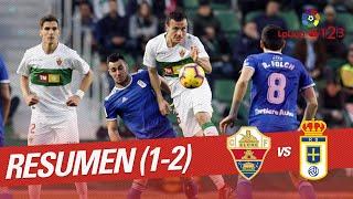 Resumen de Elche CF vs Real Oviedo (1-2)