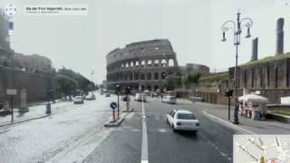 Street View Italia - nuova interfaccia