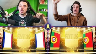 SZALONY URODZINOWY PACK AND PLAY! ADRYAN VS DEV! | FIFA 19