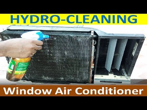 Chemical Cleaning of Air-con Condenser/Evaporator Coils | aircon washing & cleaning
