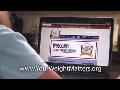 Your Weight Matters - For Your Health: National PSA