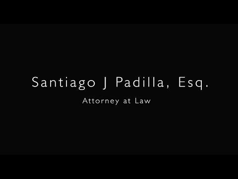 URD Celebrity - Santiago J. Padilla, PA. Attorney at Law