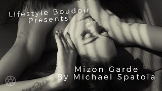Boudoir Mini Movie- Sassy Black and White of Mizon Garde