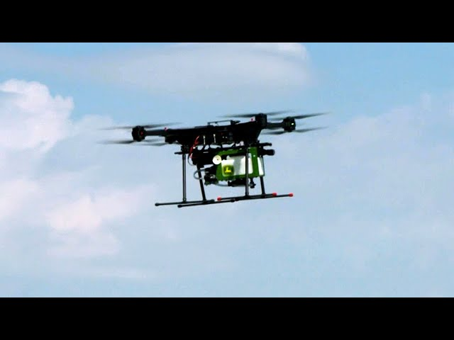 Autonomous drone sprayer - Future of Farming | John Deere