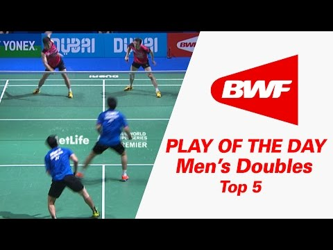 Men's Doubles - Top 5 | Badminton | Play Of The Day