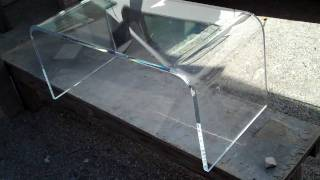 Acrylic-coffee-table-lucite-waterfall