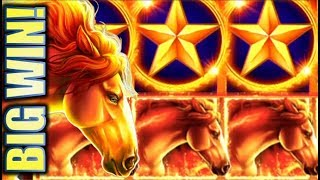 ★MUSTANG MIGHTY BIG WIN!★ MUSTANG GOLD 🐎 Slot Machine Bonus (Ainsworth)