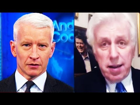 Anderson Cooper SNAPS, Says Jeffrey Lord Would Defend Donald Trump