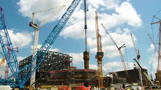 Timelapse of Vogtle Unit 4 Steam Generator Placement