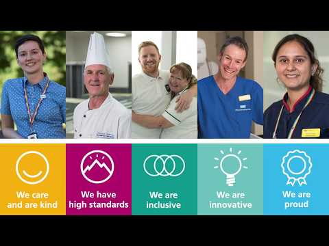 Newcastle Hospitals - Our Vision And Values
