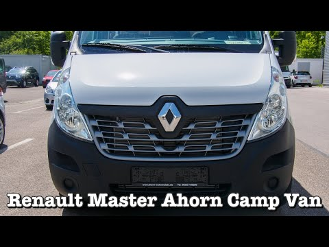 Renault Master Ahorn Camp Van Modell 2019