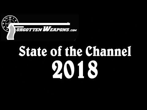 Forgotten Weapons: State of the Channel 2018