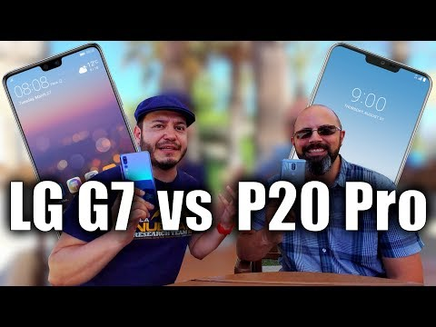 Huawei P20 Pro vs LG G7: Crossover Challenge Begins! (with TK Bay!)