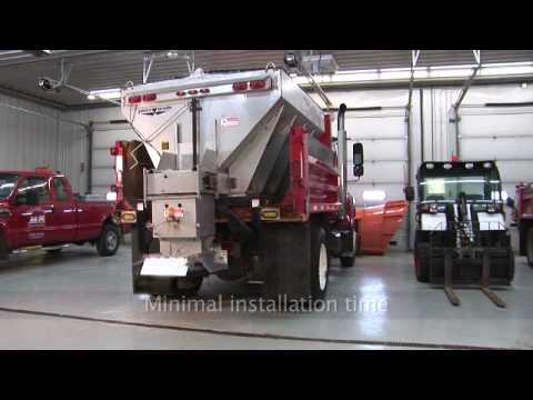 Swenson Electric V-Box Salt Spreader