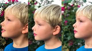 iPhone 8  Plus vs. 7 Plus vs. 6s Plus Camera Comparison Test