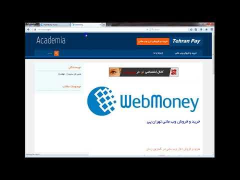 کسب درآمد اینترنتی با سرمایه گذاری در سایت ارزی وب مانی