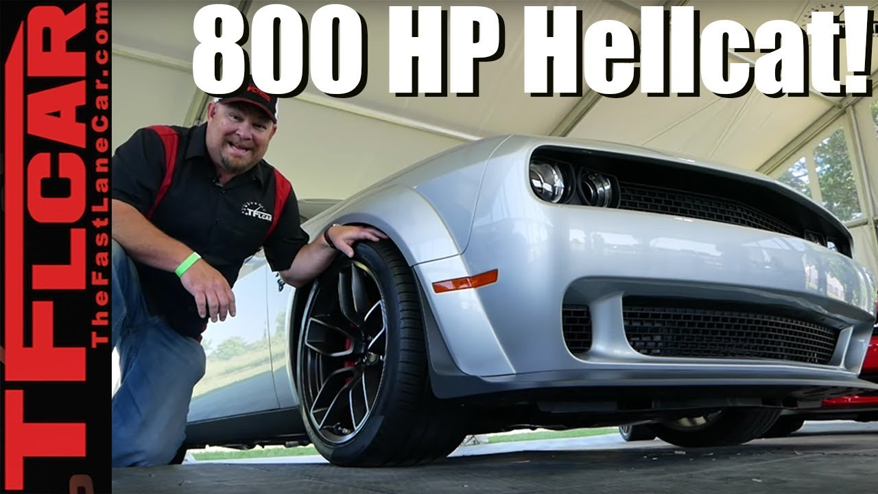 Breaking News: What You Need to Know About the 800 HP 2019 Dodge Challenger  SRT Hellcat Redeye