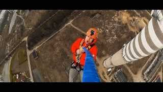 Dream Jump - Cam-L - Dream Tower 222m Głogów - Rope Jump - BUNGEE BUNGY