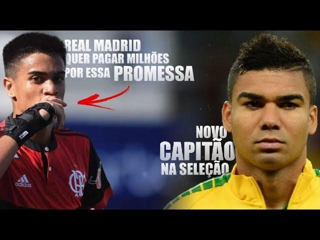 Real quer PROMESSA do Flamengo / Casemiro novo capitão / Vinicius Jr o melhor do Real