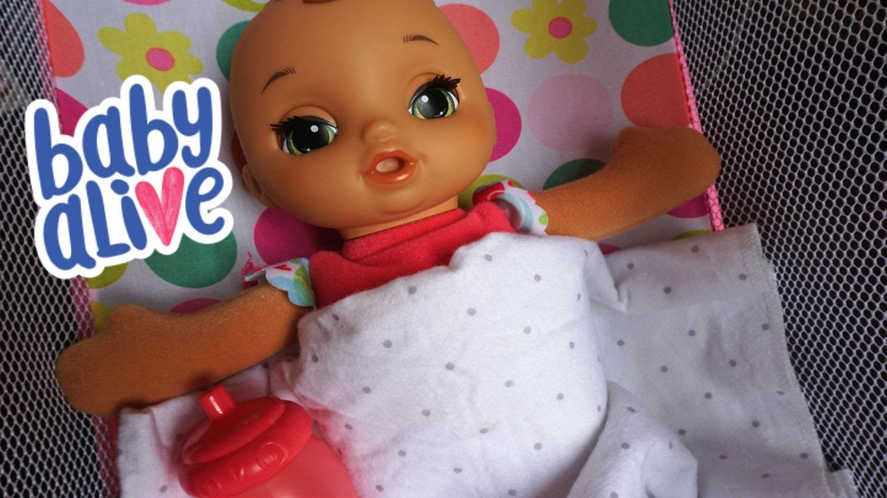 Baby Alive Lil Slumbers Name Reveal Youtube