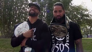 The Usos want to break The Shield