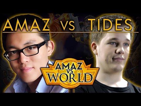 [Hearthstone] Amaz VS World - Amaz VS Tides Ep 14